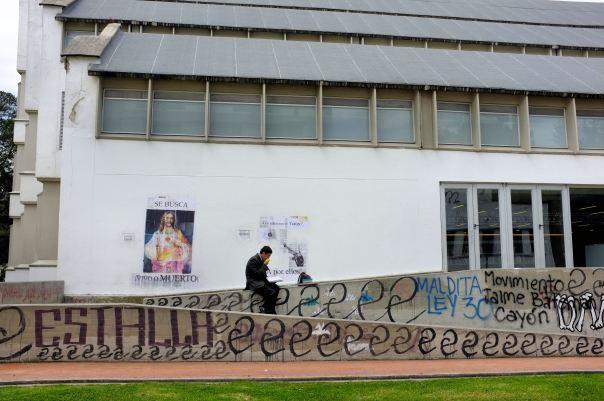 hedy bach photography ~ FUJI x100 ~ Bogotá ~ National Uni ~ 4