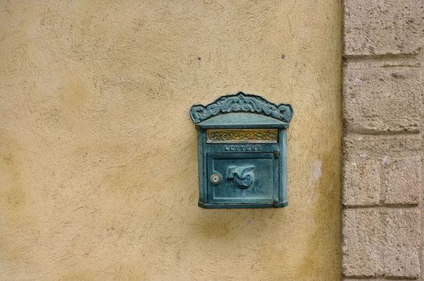 hedy bach photography ~  letter box ~ Pézenas, France 2012 ~ 1