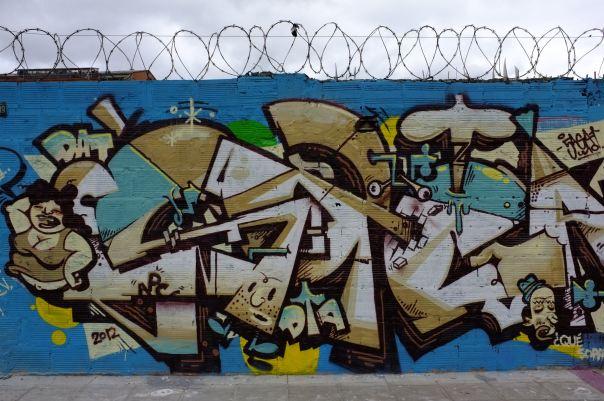 hedy bach photography ~  Bogotá, Colombia ~ Graffiti 1