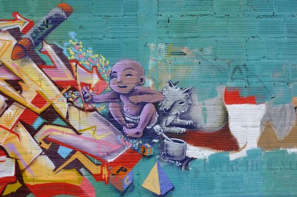 hedy bach photography ~  Bogotá, Colombia ~ Graffiti 6