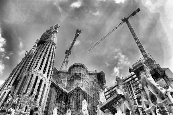 hedy bach photography ~ Sloppy Buddhist ~ fijifilmX100 ~ Sagrada Família, Barcelona, Catalonia ~ 2