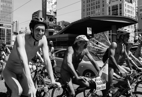 Hedy Bach Photography - nude bike ride - 1