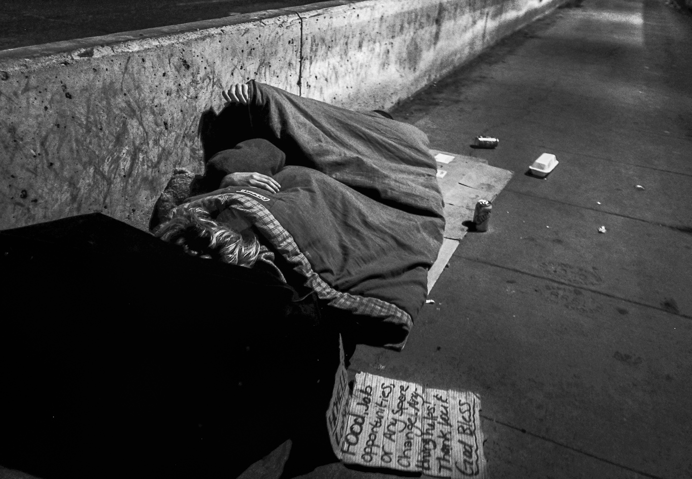 Hedy Bach Photography - TO - homeless b-w - 3