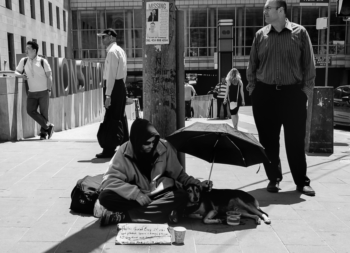 Hedy Bach Photography - TO - homeless b-w - 6