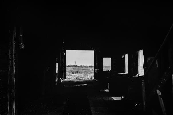 Hedy Bach Photgraphy - SASK - old buildings - 9 b-w