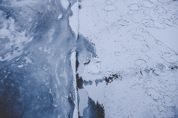 hedy bach photography - blue blue frozen river - 2