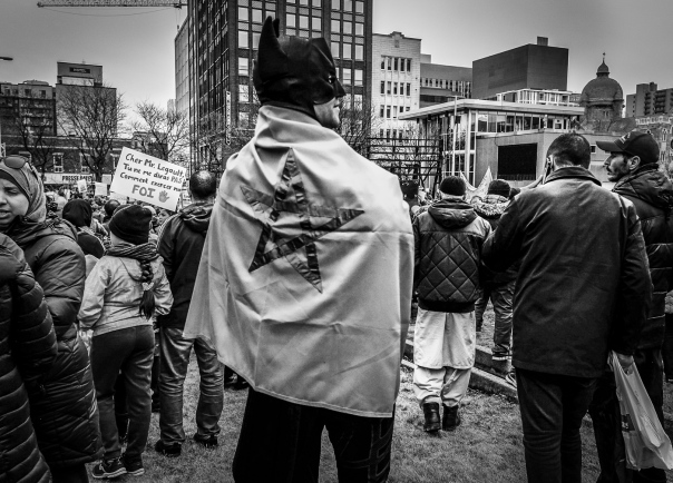 hedy bach images - Montreal protest - 4