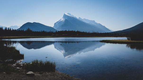 hedy bach images - banff moring_