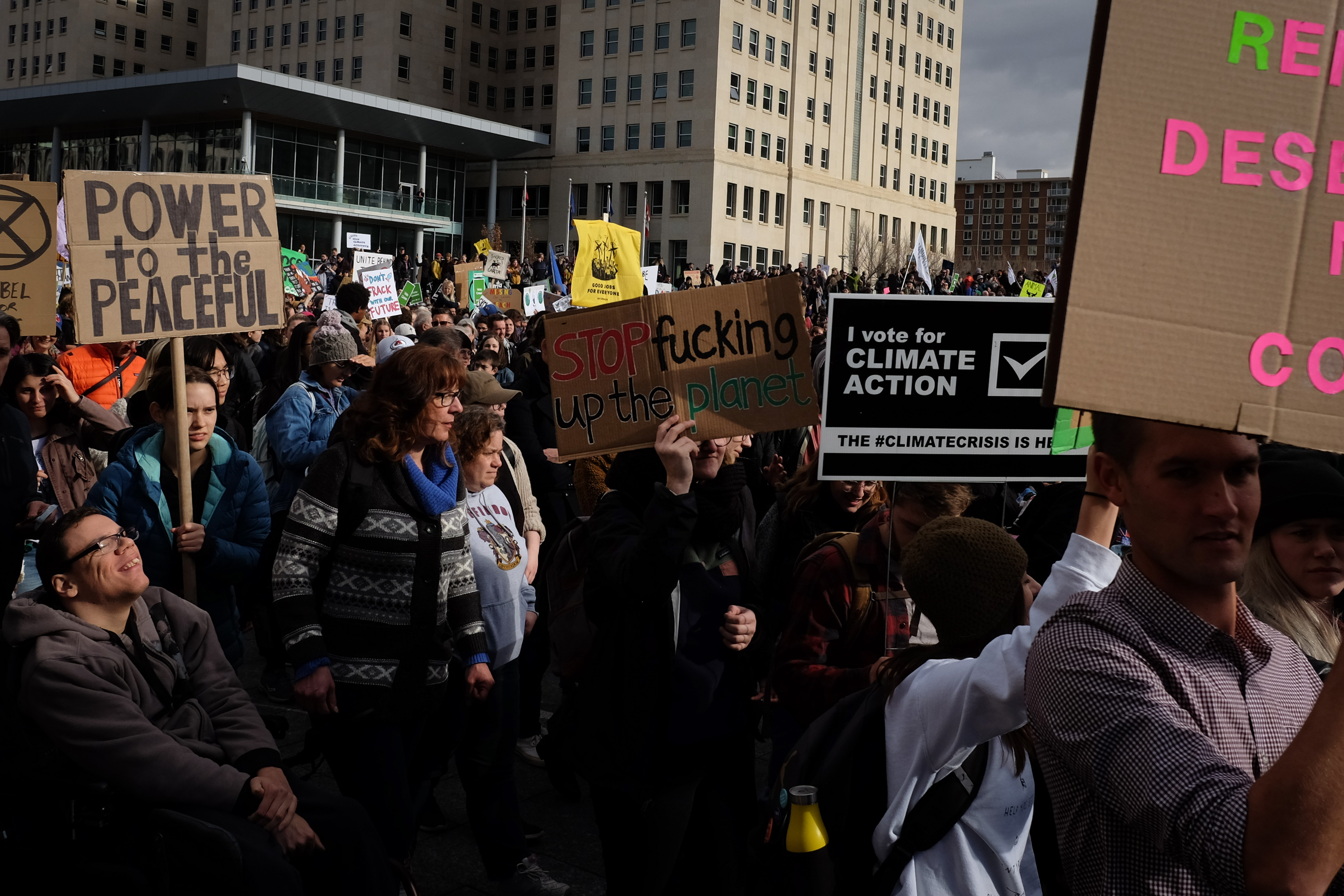 hedy bach images - climate strike - 11