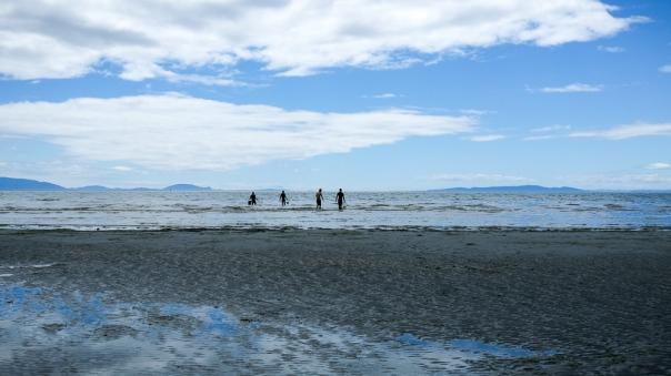 hedy bach - white rock beach - 5